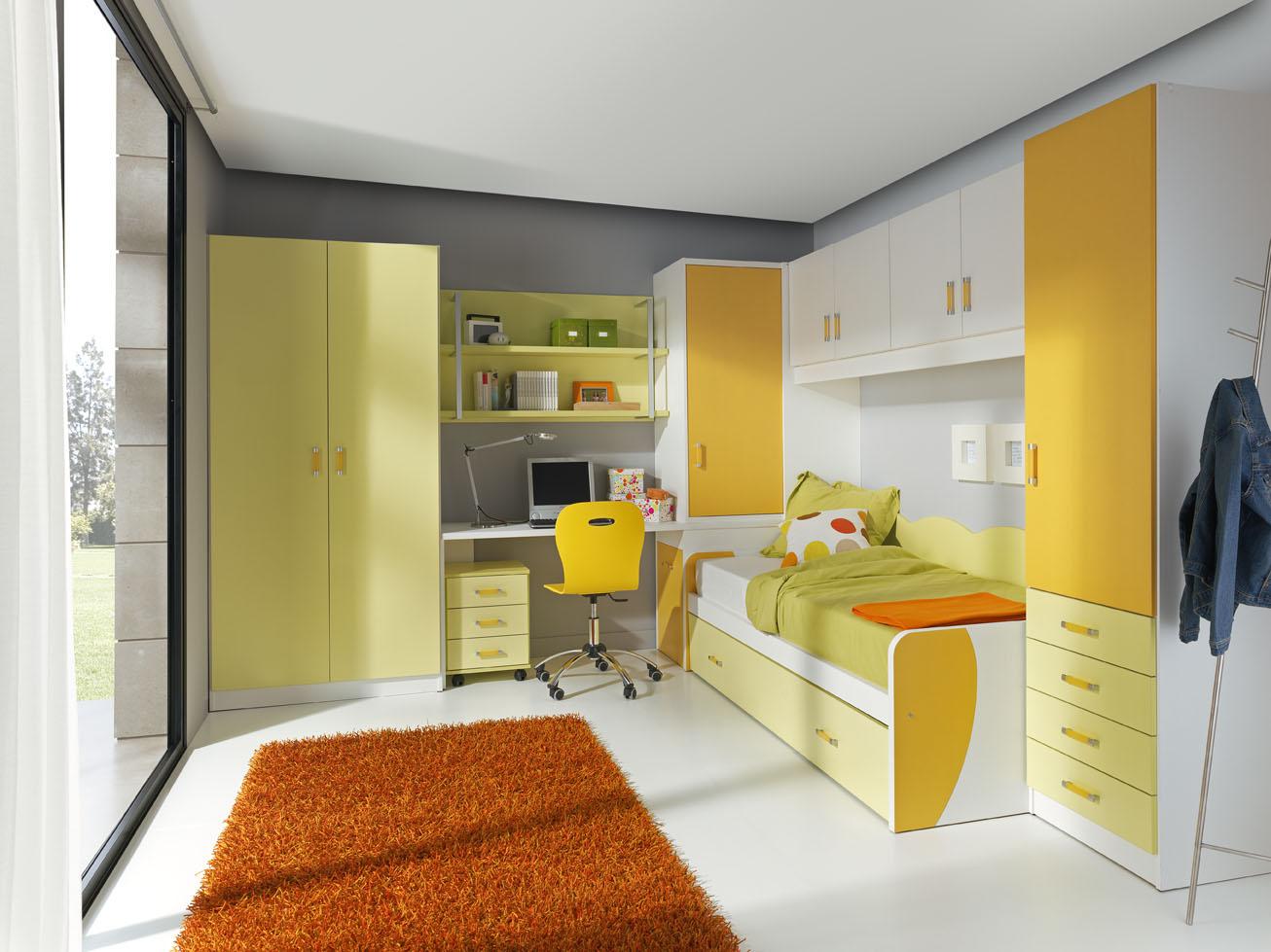 Habitaciones compartidas para ni os muebles orts blog for Muebles dormitorio juvenil