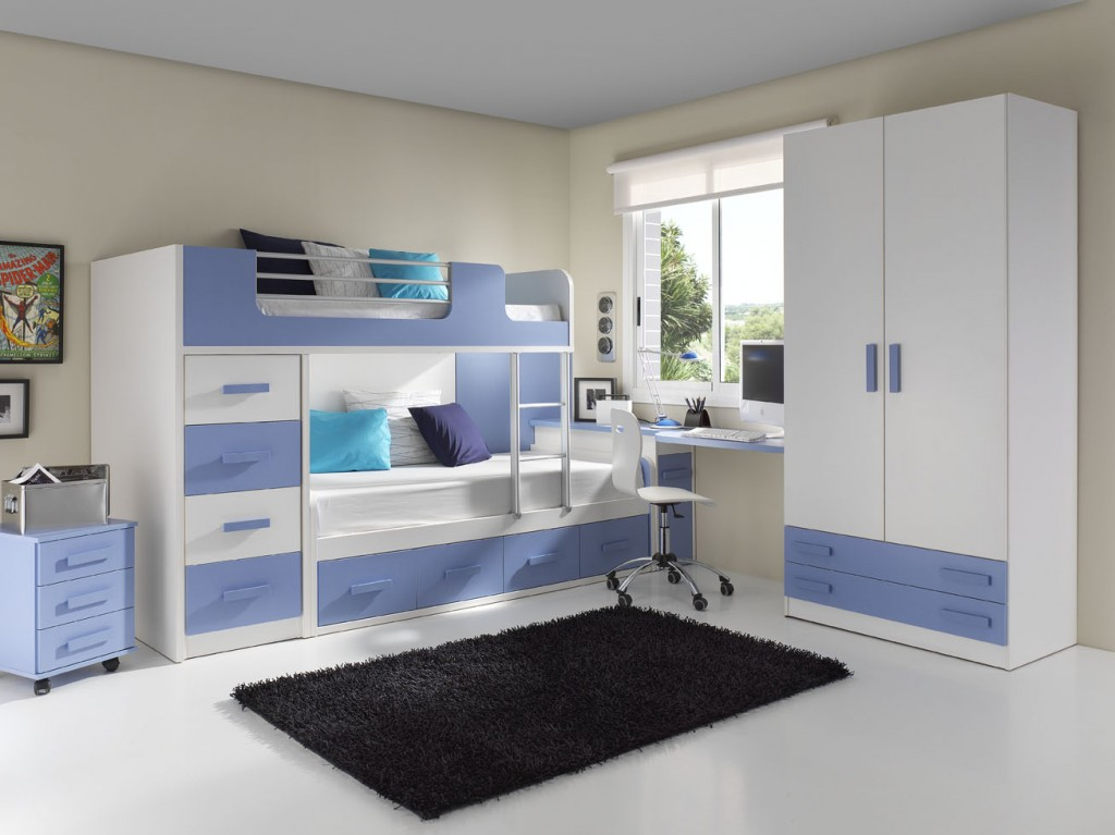 Habitaciones compartidas para ni os muebles orts blog - Dormitorios infantiles dobles ...