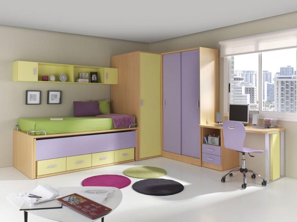 Dormitorios juveniles funcionales y bonitos muebles - Muebles juveniles dormitorios ...