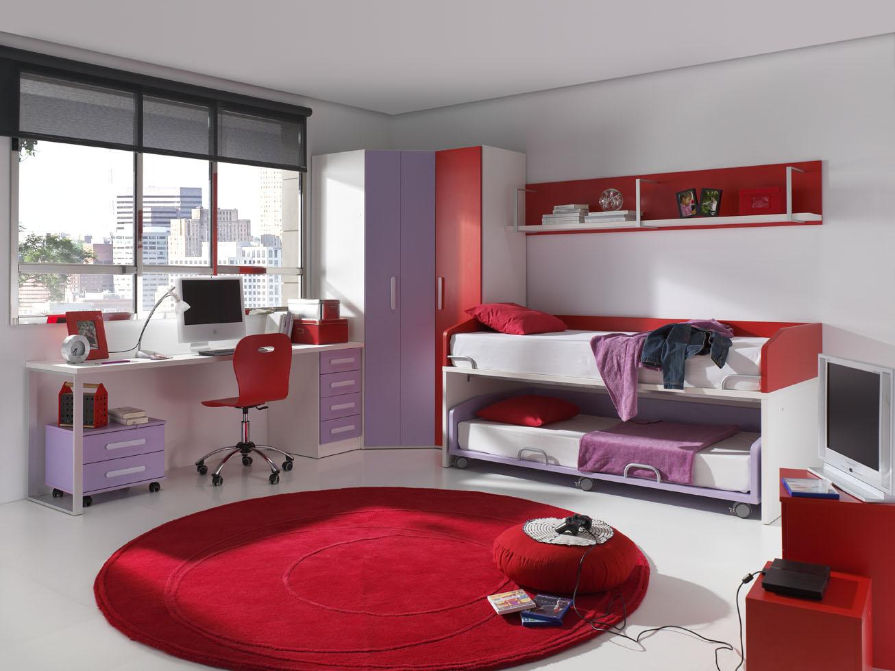 Dormitorios juveniles funcionales y bonitos muebles for Decoracion de cuartos para jovenes