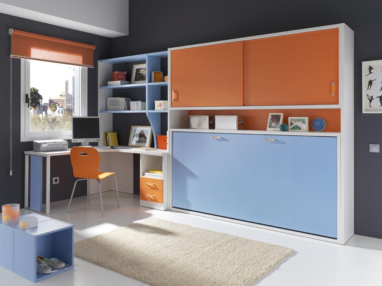 Muebles modulares para el dormitorio juvenil muebles for Muebles modulares juveniles