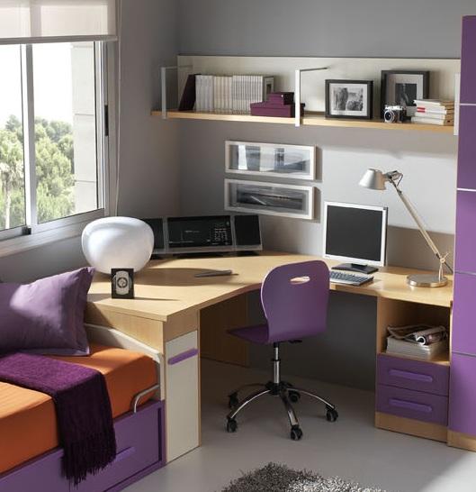 Diez ideas para reformar una habitaci n juvenil muebles - Ideas para decorar una habitacion juvenil ...