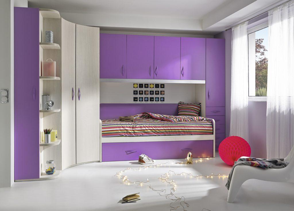 Composición 02 Colección Base 3.0 en tonos lilas