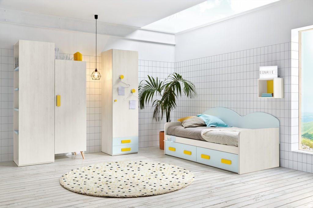 Composición 01 colección sonríe cama nido