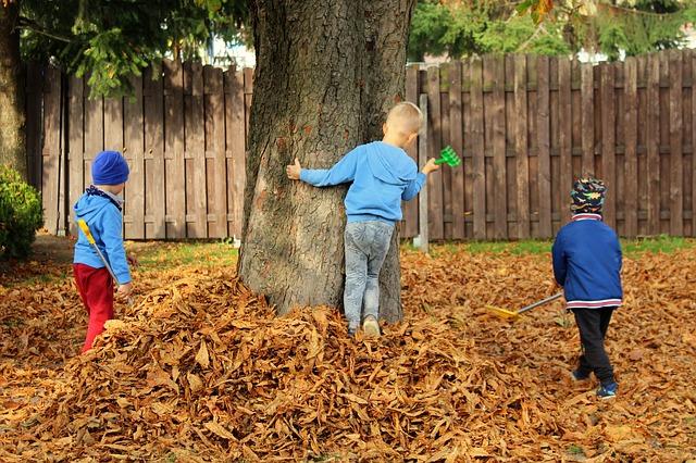 otoño con niños