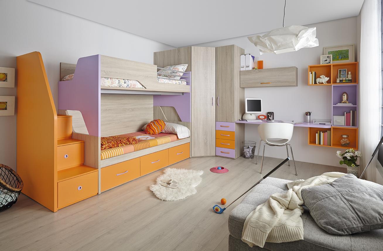 Litera dormitorio juvenil Muebles Orts