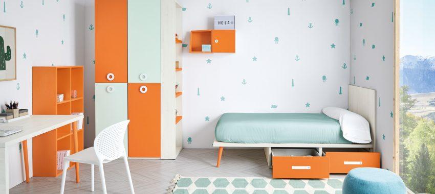 Dormitorio infantil mobiliario 963