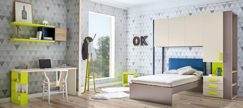 Tendencias en la decoraciónd e las habitaciones juveniles