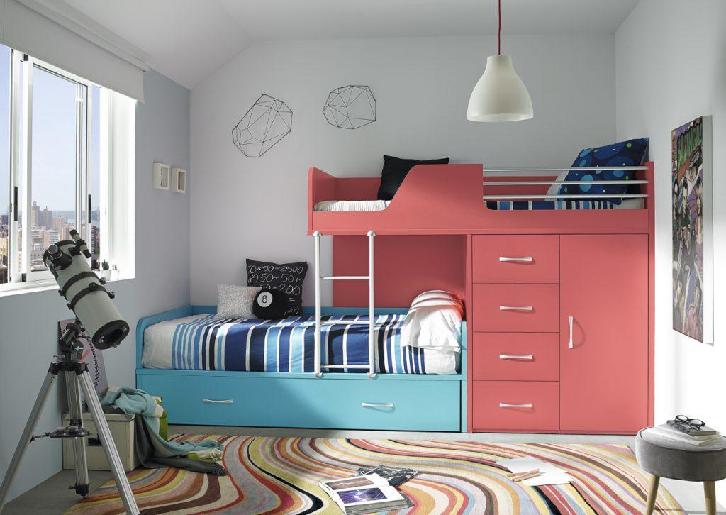 Colección Base composición 48 con cama tren