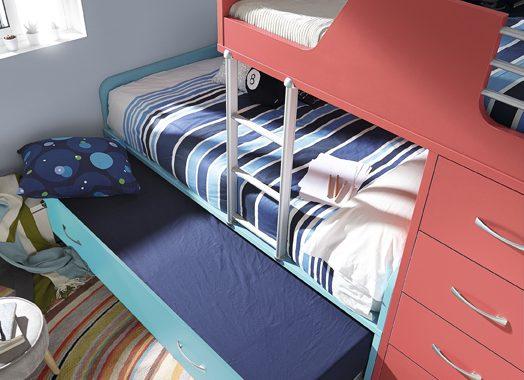 habitaciones juveniles 3 camas Literas Con 3 Camas Que Vengan Sus Amigos A Dormir